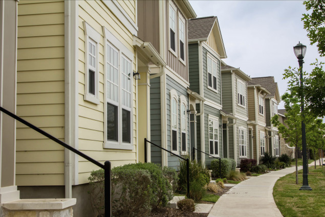 picture of townhouses