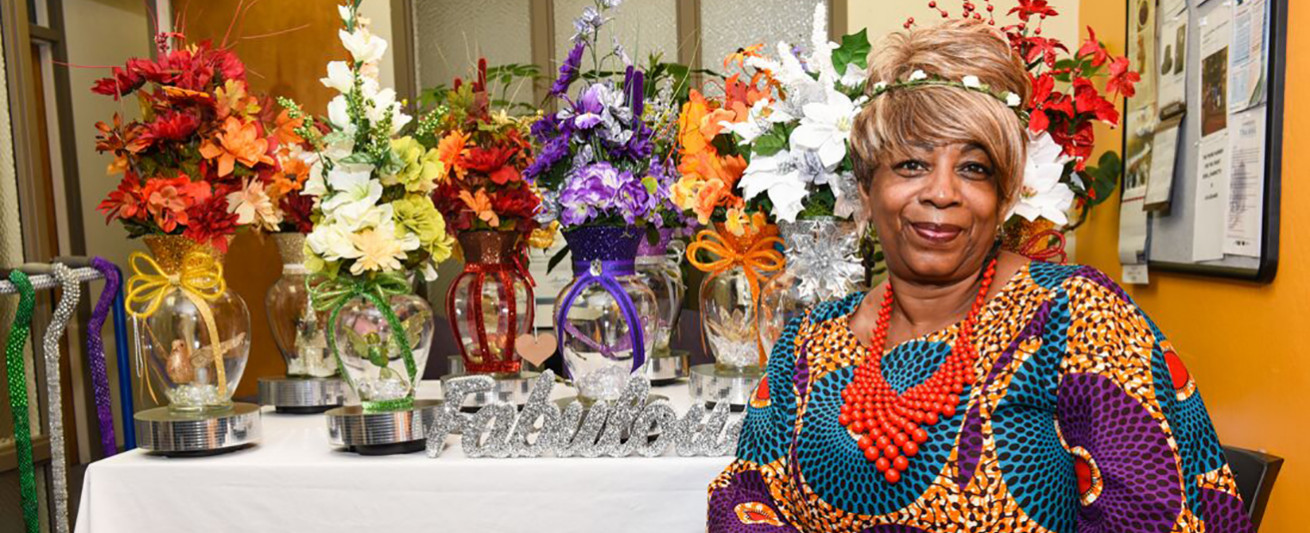 Theresa Wallace named her business Royal Tee's Custom Designs and Events.