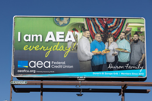 AEA's current marketing campaign spotlights members running well-known local businesses.