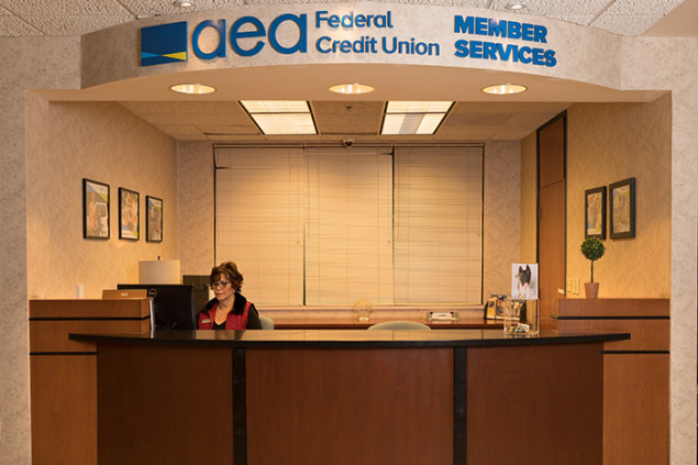 Alejandrina (Ali) Lopez helps members who visit or call the credit union.